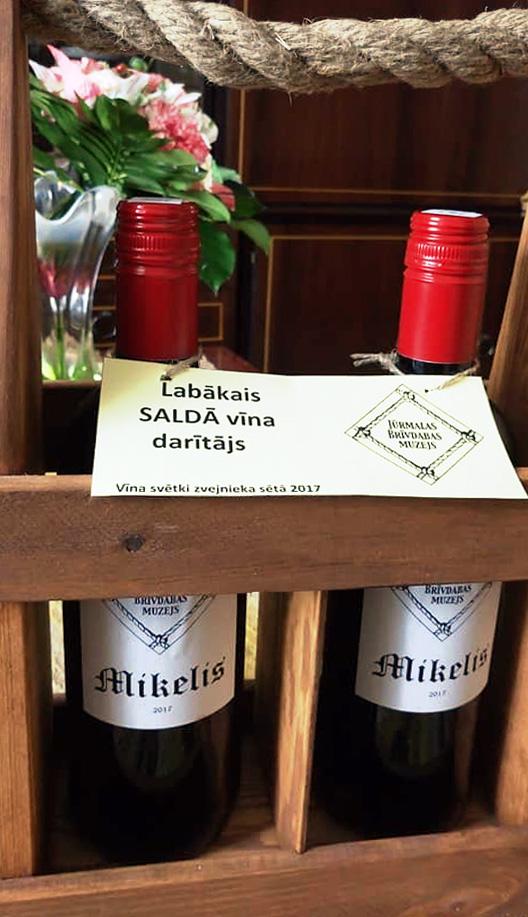 """Mājas vīni """"Kaspari"""""""