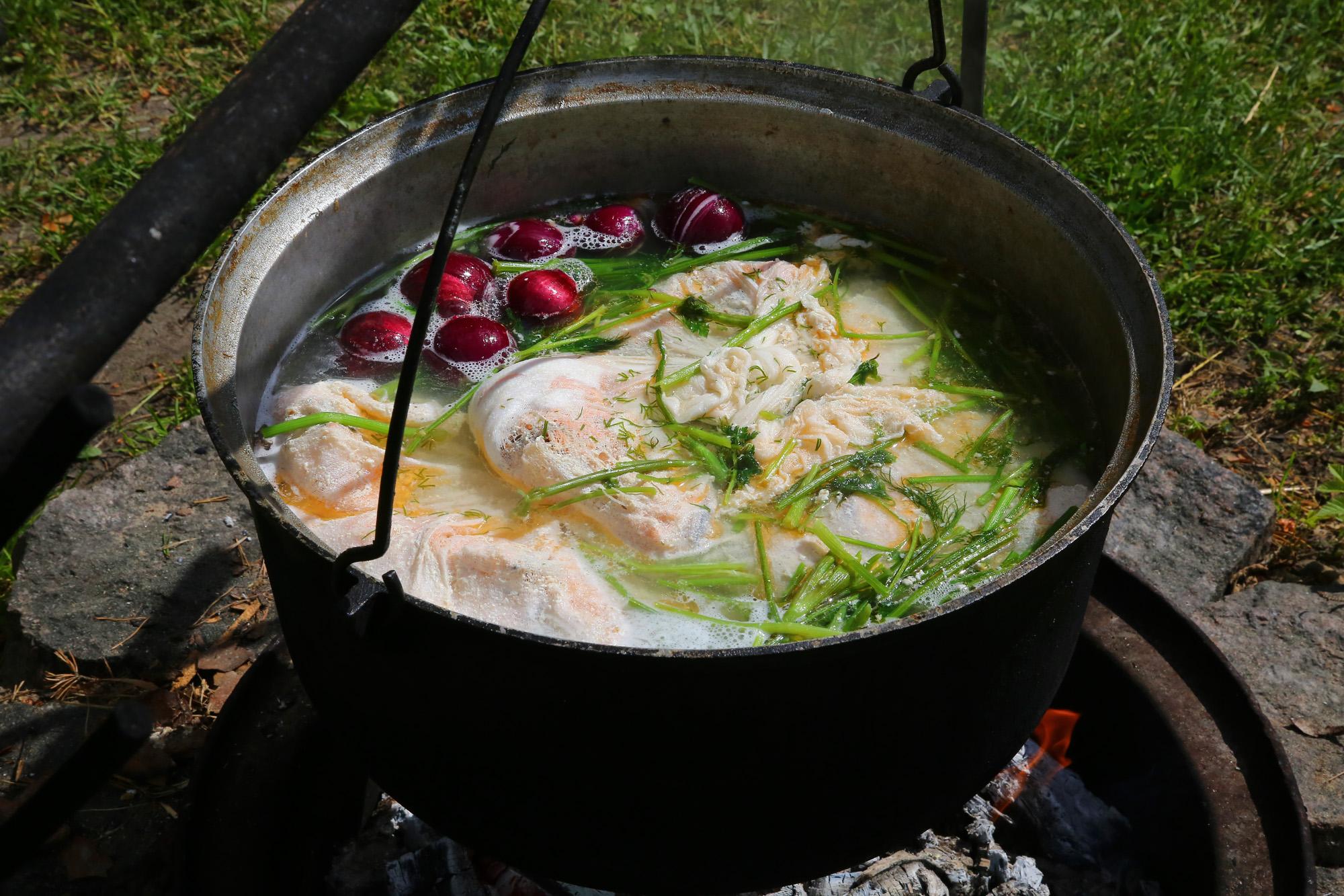 Zivju zupa meistarklase